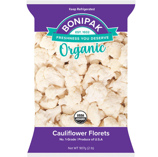 Bonipak Organic Packaged Cauliflower